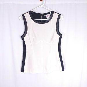 Anthropologie Yoana Baraschi Colorblock Tank Top M